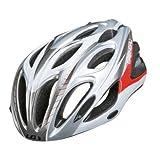 Louis Garneau Mundial II Cycling Helmet Red/Silver, S/M