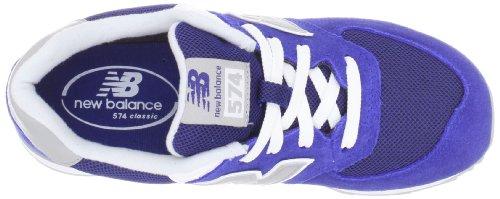 New Balance 574 Series GS KL574RBG Blue Youths Trainers Blau