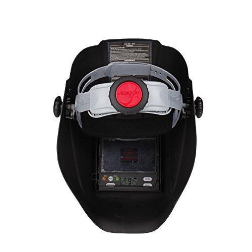 Jackson Safety Insight Variable Auto Darkening Welding Helmet, HaloX (46130), Arc Angel, 1 Helmet / Order by Jackson Safety (Image #6)