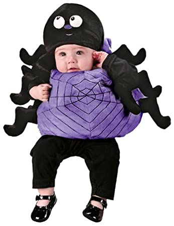 Babies Plush Spider Halloween Costume: Amazon.co.uk: Toys & Games