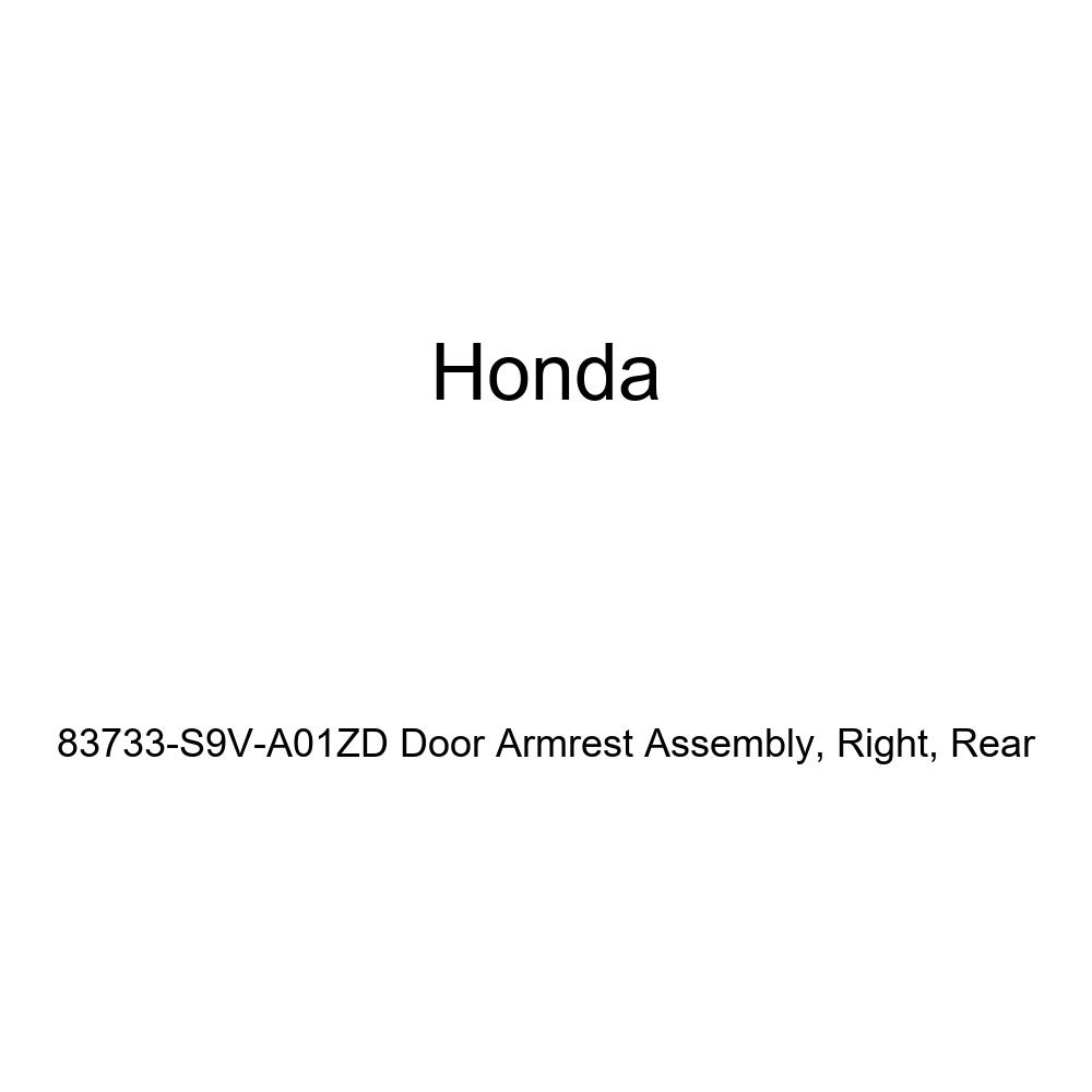 Honda Genuine 83733-S9V-A01ZD Door Armrest Assembly Right Rear