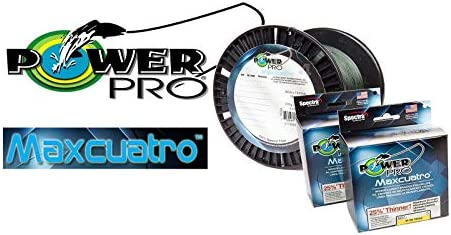 PowerPro 33400301500E MaxCuatro Spectra HT Braided Fishing Line