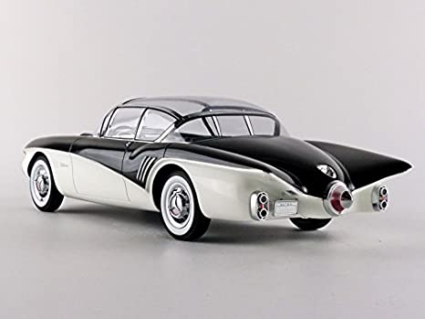 Minichamps 107141201 118 1956 Buick Centurion Concept Blackwhite