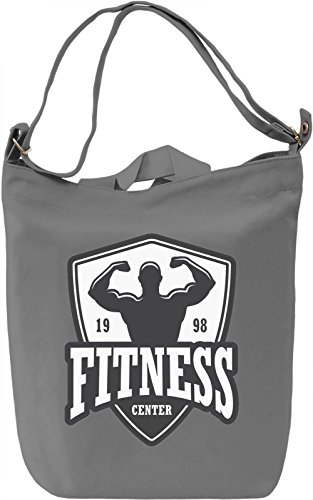Fitness Borsa Giornaliera Canvas Canvas Day Bag| 100% Premium Cotton Canvas| DTG Printing|