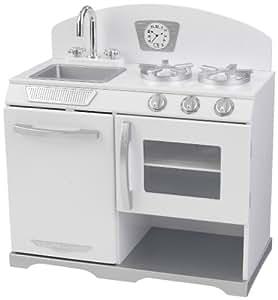 KidKraft - Horno estilo retro, color blanco (53234)