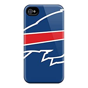 Ideal Tanya5423 Case Cover For Iphone 4/4s(buffalo Bills), Protective Stylish Case