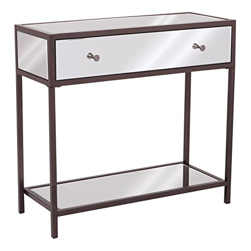 OSP Designs Marquis Foyer Table, Mirrored