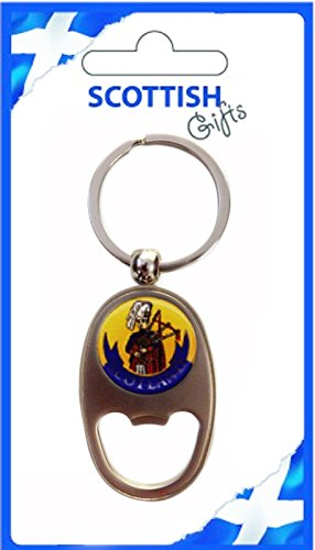 iLuv Bottle Opener Keyring Scotland Piper Oblong Shape Souvenir Gift