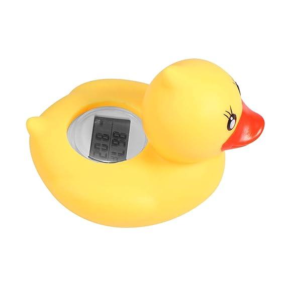 Term/ómetro de agua de ba/ño para beb/és MIsha Term/ómetro de agua Term/ómetro de ba/ño beb/é pato amarillo