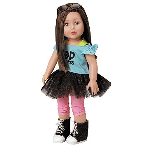 Adora Amazing Girls 18-inch Doll, ''Emma'' (Amazon Exclusive) (Pretty Girl With Brown Hair And Blue Eyes)
