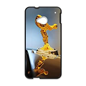 Happy Rolls-Rayce sign fashion cell phone case for HTC One M7