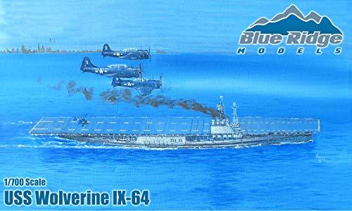 1/700 Blue Ridge Models USS Wolverine IX-64 Model Kit