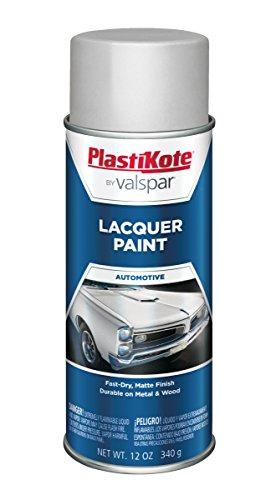 PlastiKote T-41 Dull Aluminum Lacquer Paint - 12 Oz. ()