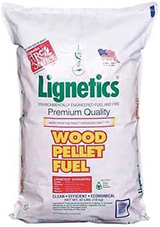 Lignetics of Virginia Wood Pellets 40lb