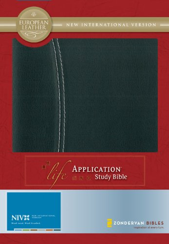 NIV LIFE APPLICATION STUDY BIBLE By Zondervan Excellent Condition  - $58.95