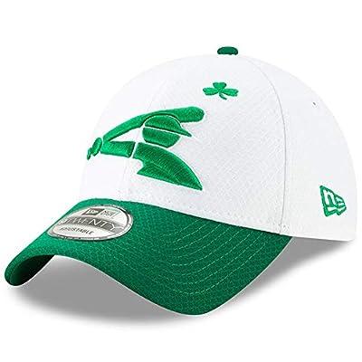 New Era Men's Chicago White Sox White/Kelly Green 2019 St. Patrick's Day 9TWENTY Adjustable Hat