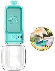 Babacom Bottiglia Acqua per Cani, A Prova di Perdita Portatile Pet Water Dispenser per All'aperto Walking, Viaggio, Leggero Fashion Dog Water Bottle, 0.35 Liter, BPA Free