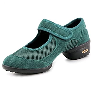 YFF Sport Latin Dance Schuhe Sneakers für Frau Modern Jazz, 808 rot, 6 LEIT