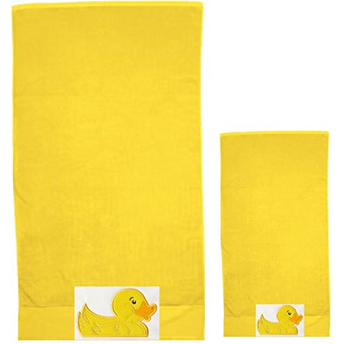 ow Bath Towel Set ~ 100% Cotton ()