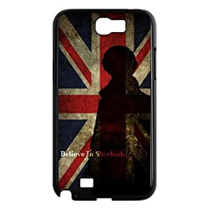 Samsung Galaxy Note 2 N7100 Phone Cases Black Sherlock RSDF6111609