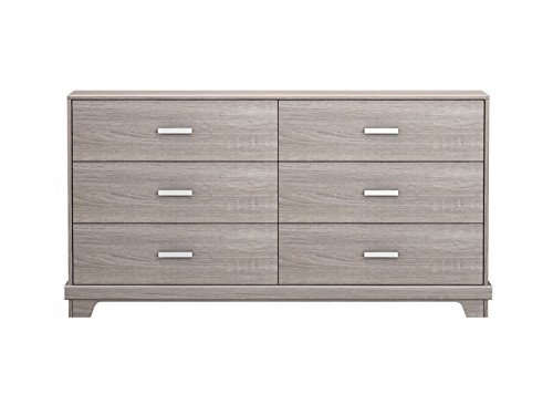Homestar Manhattan 6 Drawer Dresser Sonoma ()