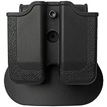 IMI Defense Tactical Double Magazine Mag Pouch CZ WALTHER P88 P99 PPQ M1 M2 COLT Pistol Handgun