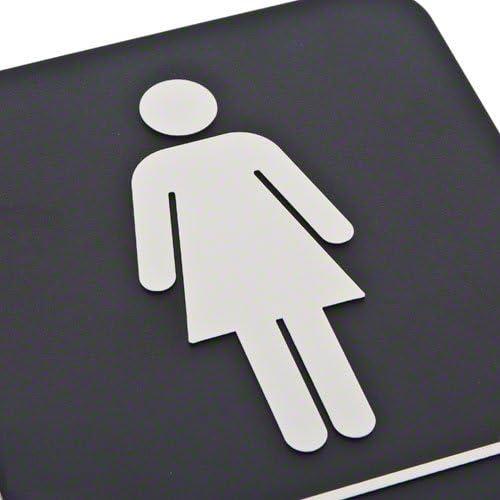 Amazon.com: Cartel en braille para baño de Update ...