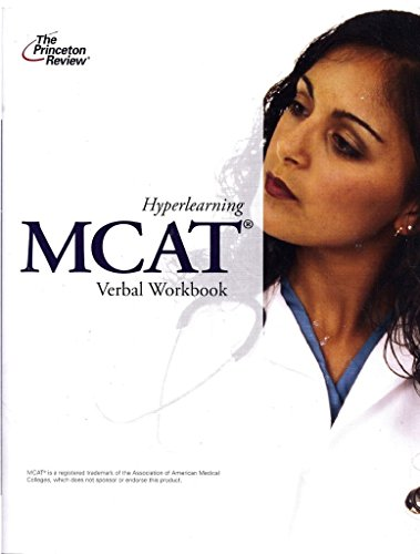 Hyperlearning MCAT Verbal Workbook 2012 Edition