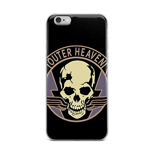 iPhone 6 Plus/6s Plus Pure Clear Case Cases Cover Metal Gear Solid V - Outer Heaven
