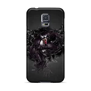 Scratch Protection Cell-phone Hard Covers For Samsung Galaxy S5 With Provide Private Custom Fashion Venom Pattern WandaDicks