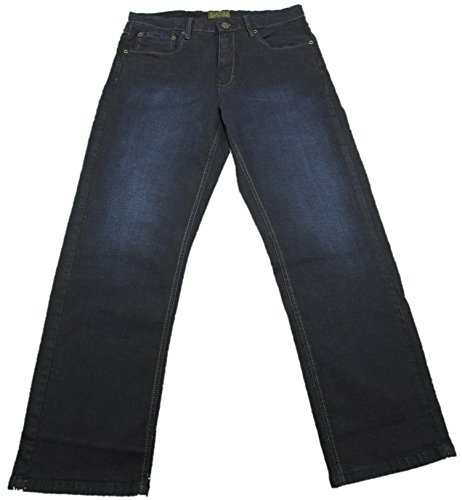 Urban Star Mens Relaxed Fit Straight Leg Stretch Jeans