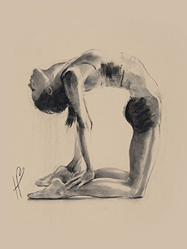 1art1 Yoga - Camel Pose, Hazel Bowman Cuadro, Lienzo Montado ...