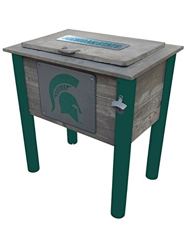 Ncaa Patio Cooler (Leigh Country TX 93832 54 quart MSU Spartans Cooler)