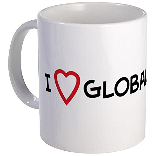 CafePress - I Love Global Warming Mug - Unique Coffee Mug, Coffee Cup (Global Warming Coffee Mug)