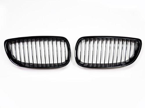 BMW E92// E93 3 series coupe// convertible and E90// E92// E93 M3 AutoTecknic Gloss Black Front Grille