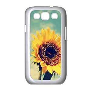 DDOUGS Sunflower Personalized Cell Phone Case for Samsung Galaxy S3 I9300, Best Sunflower Case