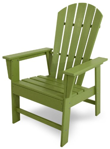 POLYWOOD SBD16LI South Beach Dining Chair, Lime