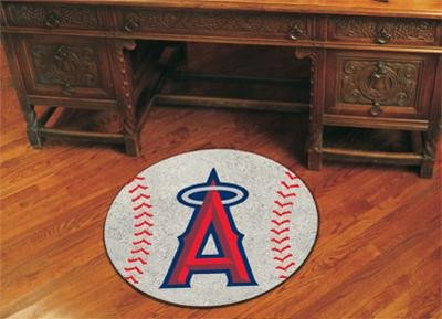 (Fan Mats Los Angeles Angels Baseball Rug, 29