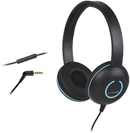 Cyber Acoustics Lightweight Headphones microphone product image