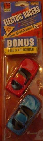 Corvette Slot - Lifelike HO Scale Chevy Corvette 2 Pack Slot Car set