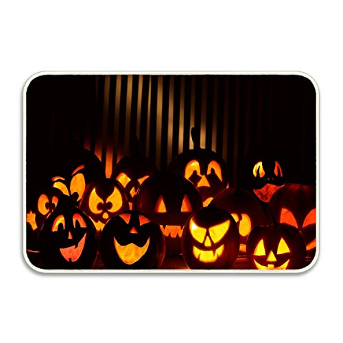 FunnyLife Welcome Mat Outdoor Halloween Wallpapers Doormat Decorative Floor Mat Kitchen,Bathroom Rug Non Slip -