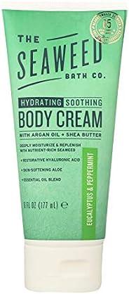 Seaweed Bath Co, Body Cream Eucalyptus Peppermint, 6 Fl Oz