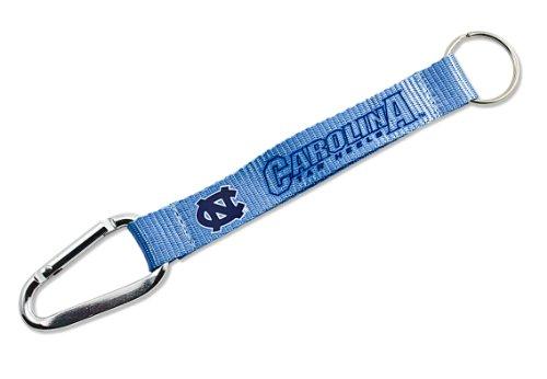 NCAA North Carolina Tar Heels  Carabiner Lanyard Keyring (Chapel Hill Basketball)