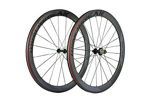 carbon fiber 700c wheelset - 2