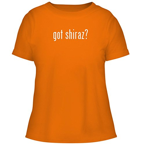 BH Cool Designs got Shiraz? - Cute Women's Graphic Tee, Orange, Small -
