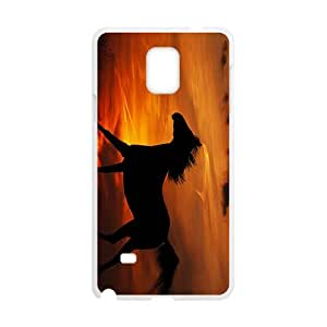 Glam Sunset Horse Custom Protective Hard Phone Cae For Samsung Galaxy Note4