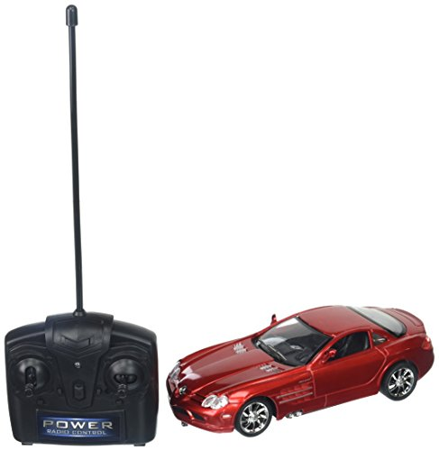Mercedes Rc Car (Braha Full Function Remote Control 1:24 Scale Mercedes Benz Slr Mclaren, Red)