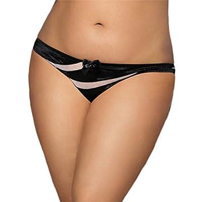 Aimur Women's Mesh Panties Bikini Tanga Hipster Underwear Lingerie