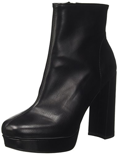 Jeffrey Campbell Women's Hunkydory Str Closed Toe Heels Black (Nero) F5BTupCn