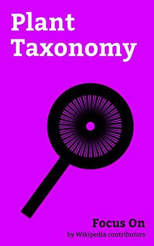 Plant Taxonomy Ebook